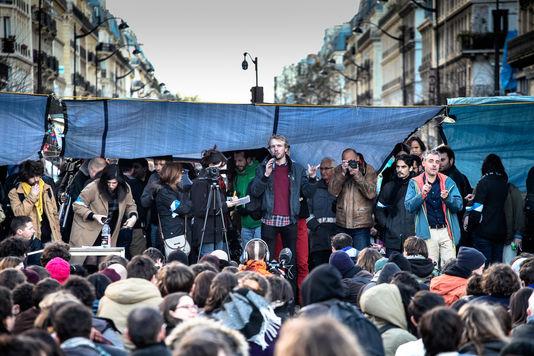 Augustin, 15 ans, en lutte - Nuit Debout
