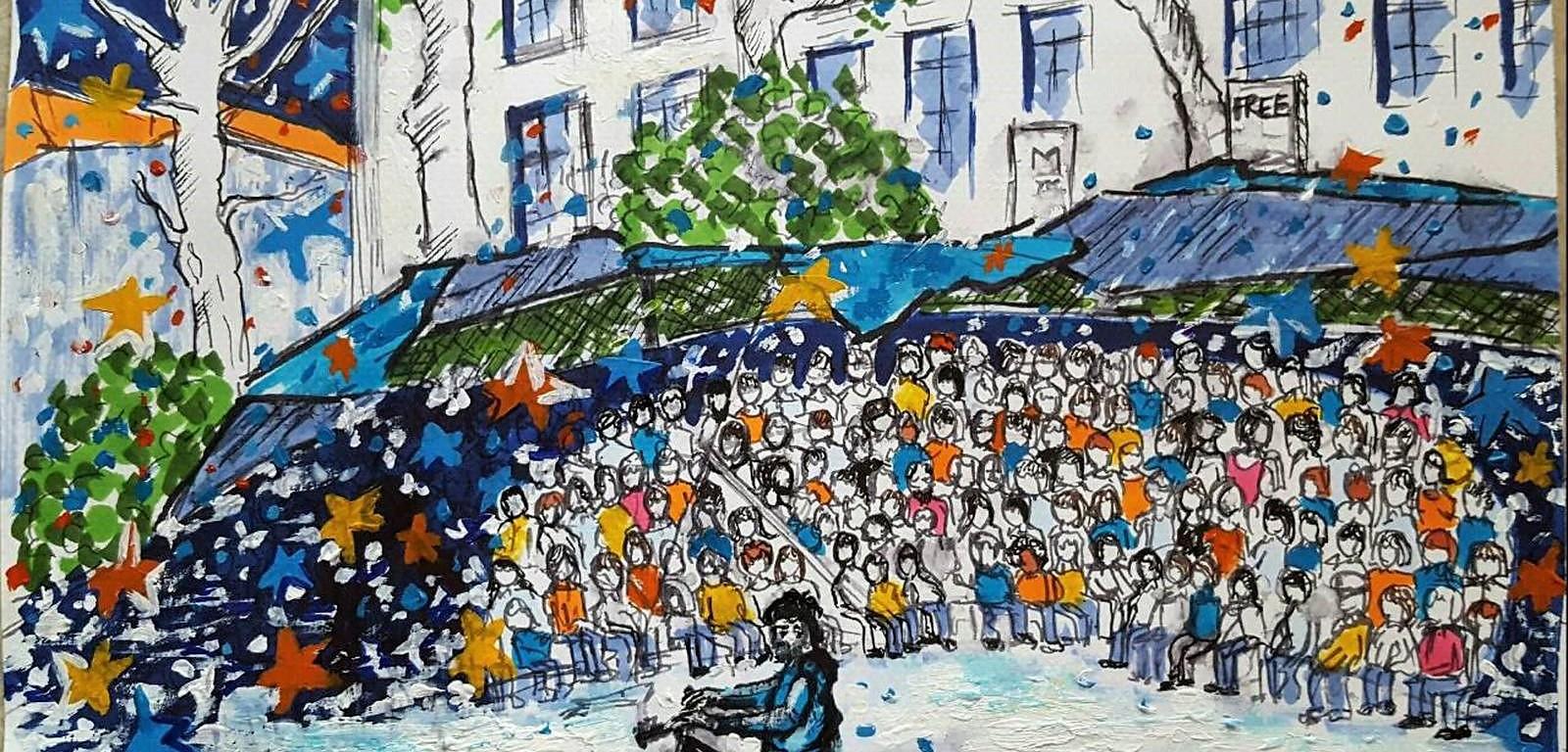 Nuit Debout - Tumblr Scarlet La culture des idées