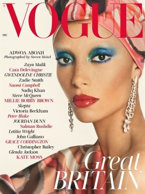 Adwoa Aboah Vogue British - Scarlet La culture des idées