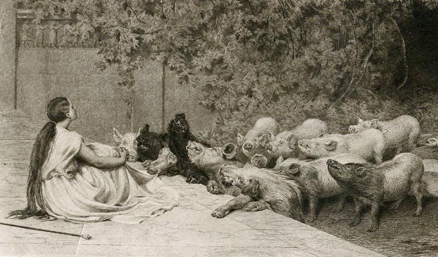 James Dobie after Briton Riviere R.A - The Art Journal - Scarlet La culture des idées