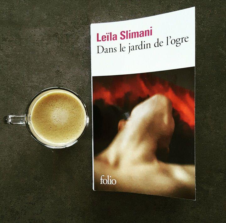 couverture livre dans le jardin de l'ogre leila slimani